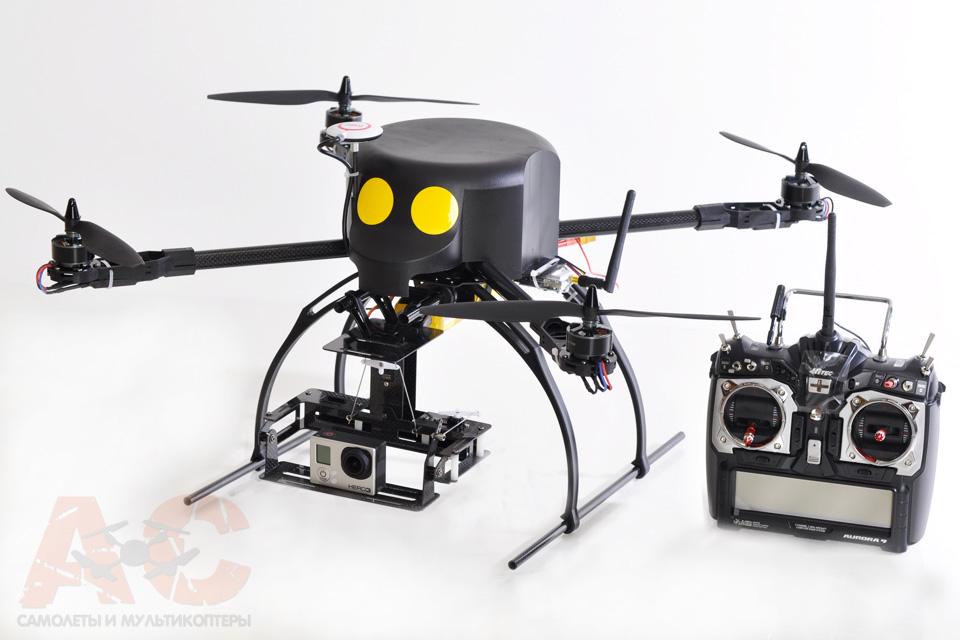 Квадрокоптеры с камерой своими руками